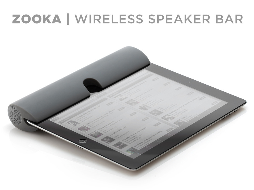 ZOOKA™ - Wireless Speaker for your iPad, iPhone & iPod's video poster