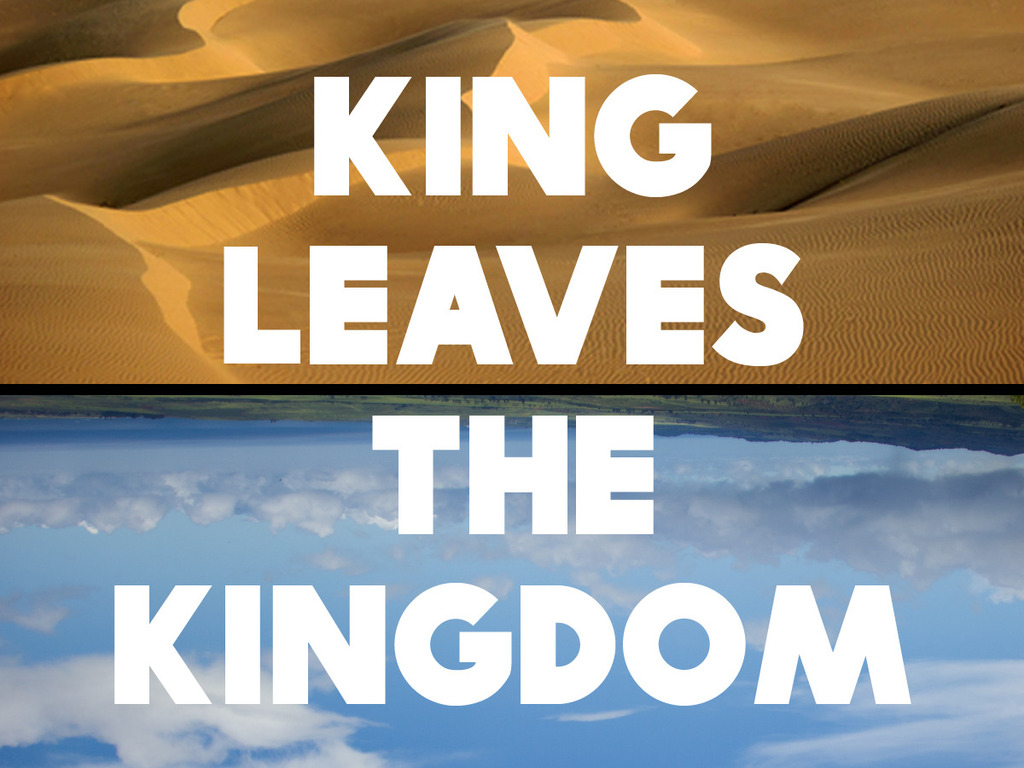 King Leaves The Kingdom's video poster