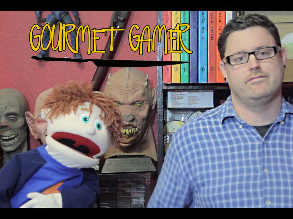 Gourmet Gamer Web Show. Video Games, Food, and Puppets!'s video poster