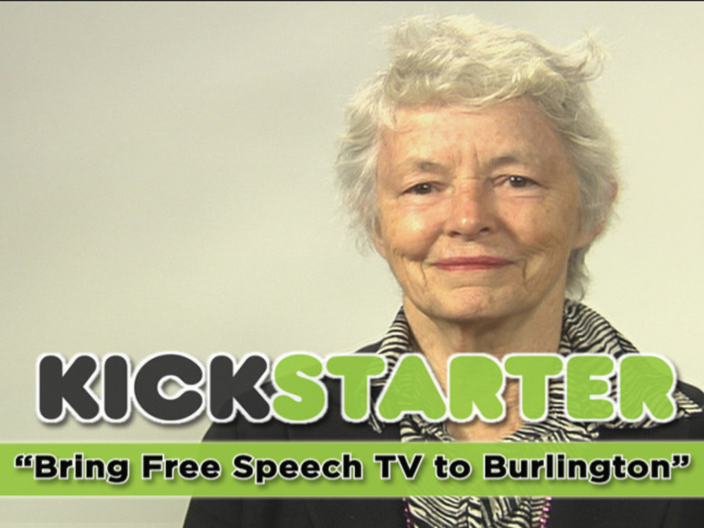 Bring Free Speech TV to Burlington!'s video poster