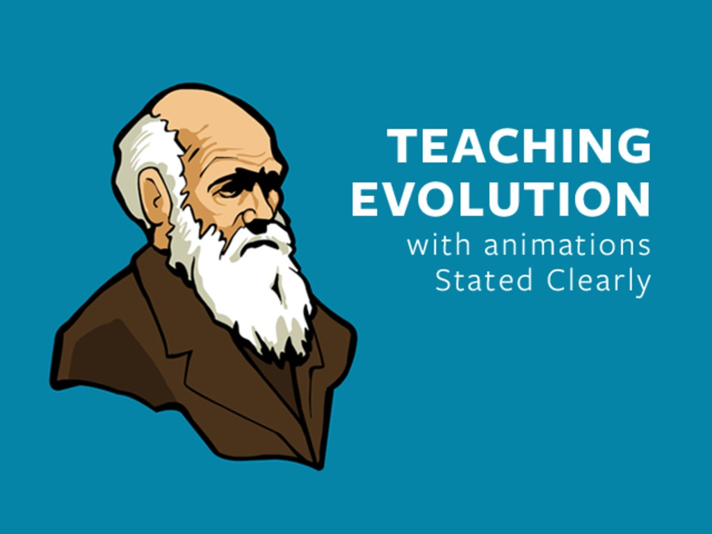 Teaching evolution with animations, Stated Clearly's video poster