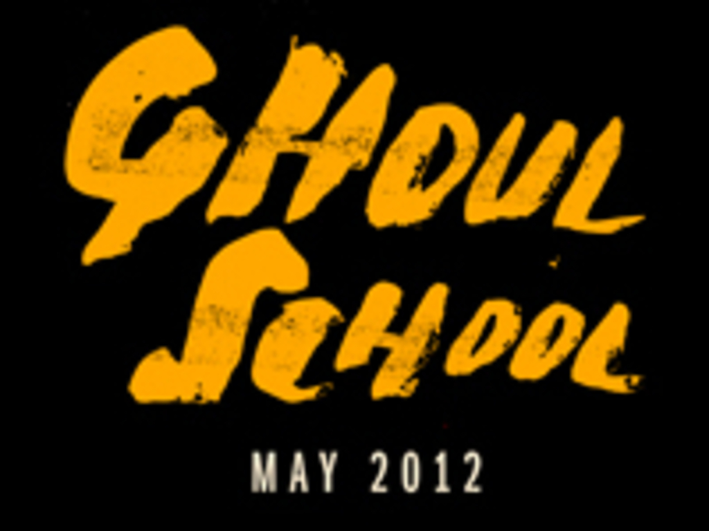 Ghoul School's video poster