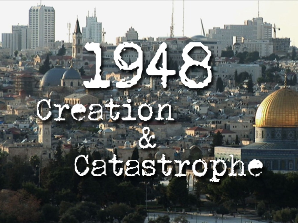 1948: Creation & Catastrophe's video poster