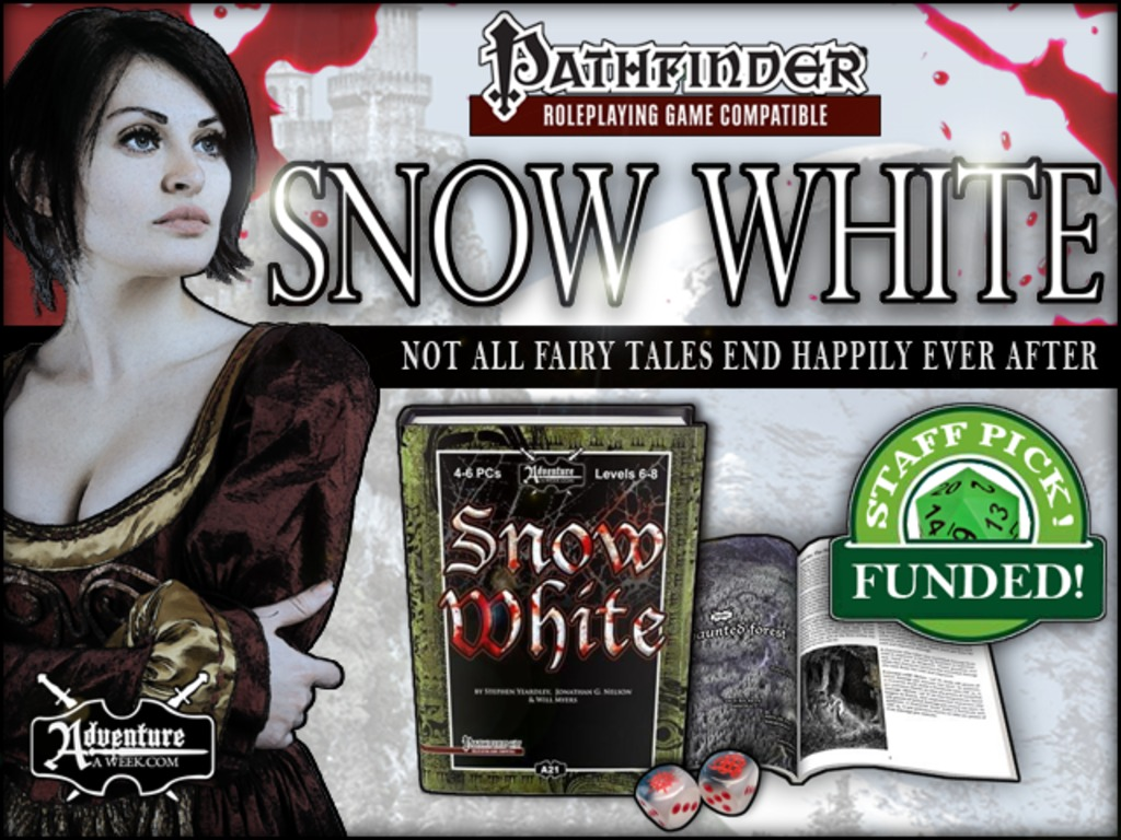 Snow White - An Adventure for Pathfinder RPG and D&D 3.5's video poster
