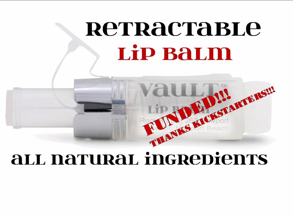VAULT Retractable LIP BALM's video poster