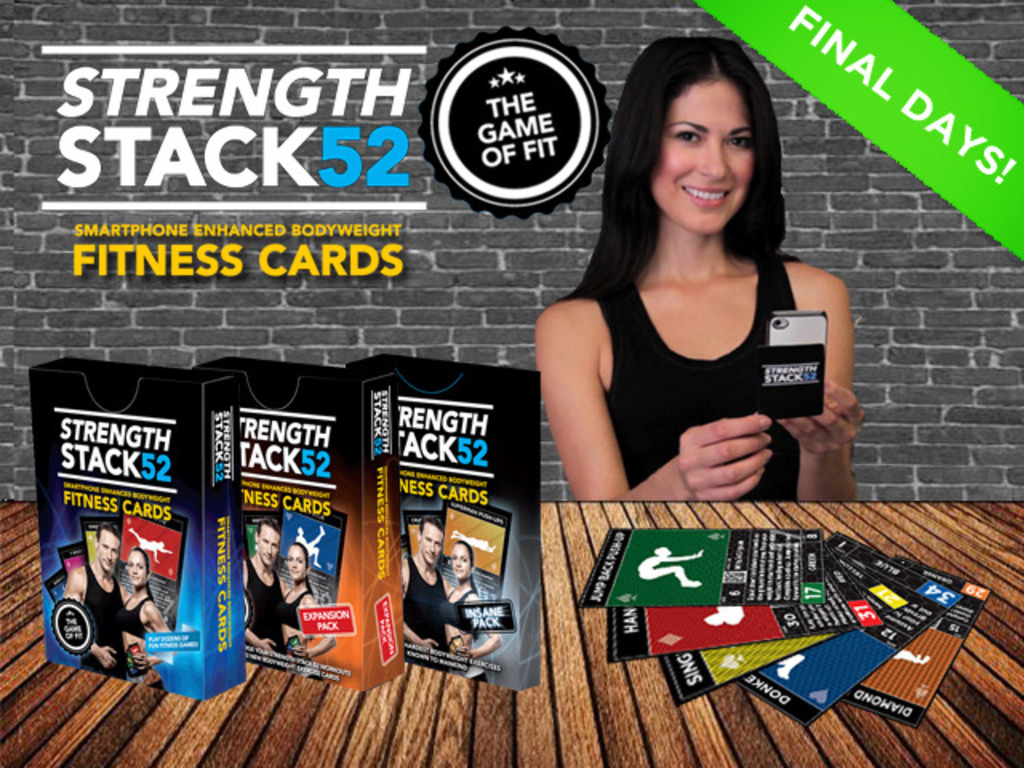 Exercise Cards: Strength Stack 52- THE GAME OF FIT's video poster