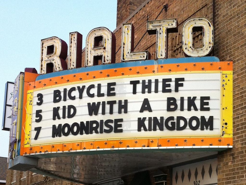 Restore the Rialto Theater's video poster