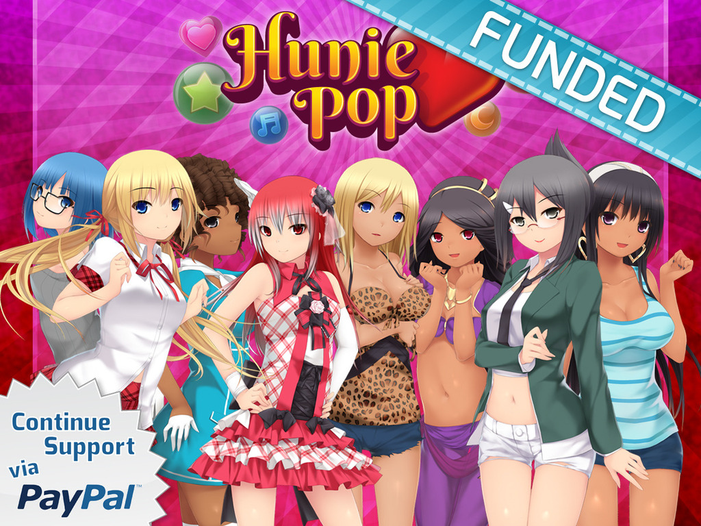 HuniePop: A Dating Puzzle RPG's video poster