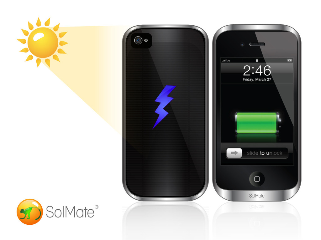 SolMate: iPhone's Hottest Solar, Inductive and Battery Case.'s video poster