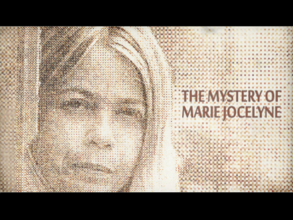 The Mystery of Marie Jocelyne's video poster