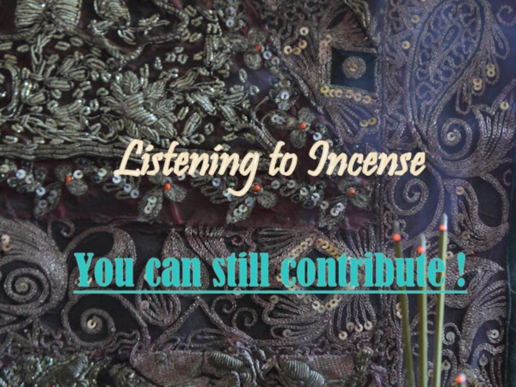 Listening to Incense:The Upcoming Book by Christine Sherwood's video poster