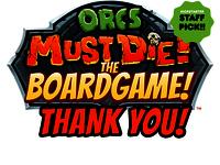 Orcs Must Die! The Boardgame
