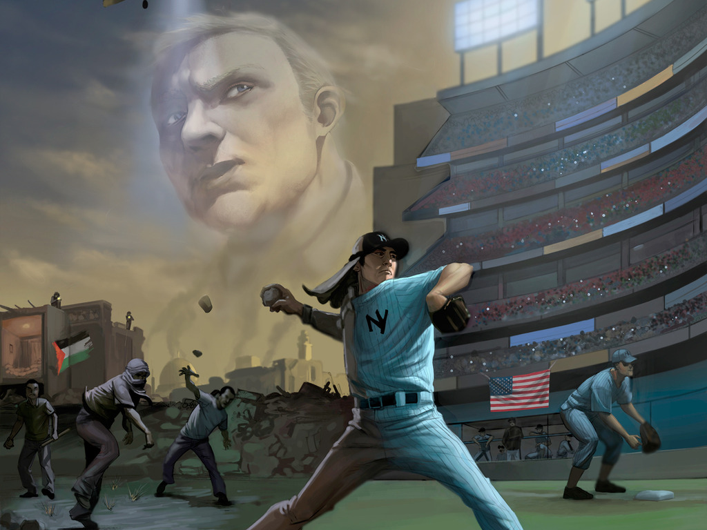 The Rock Thrower - A Baseball Graphic Novel's video poster