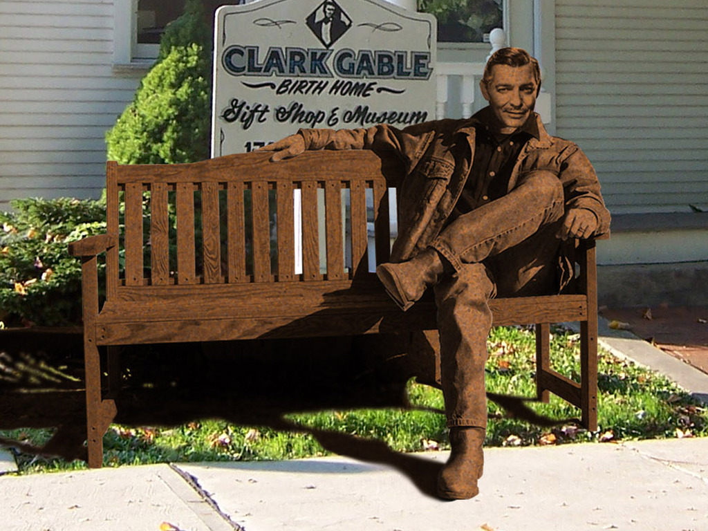 The Clark Gable Legacy-A Bronze Sculpture of The King's video poster