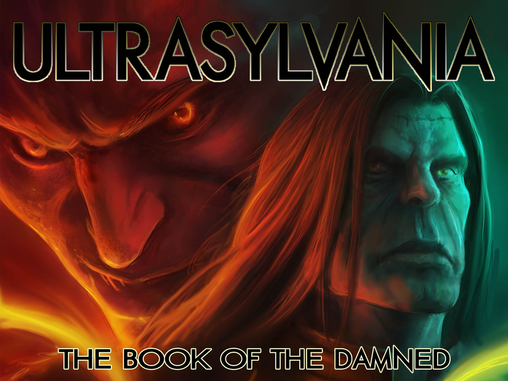 Ultrasylvania, Vol. 3: The Book of the Damned's video poster