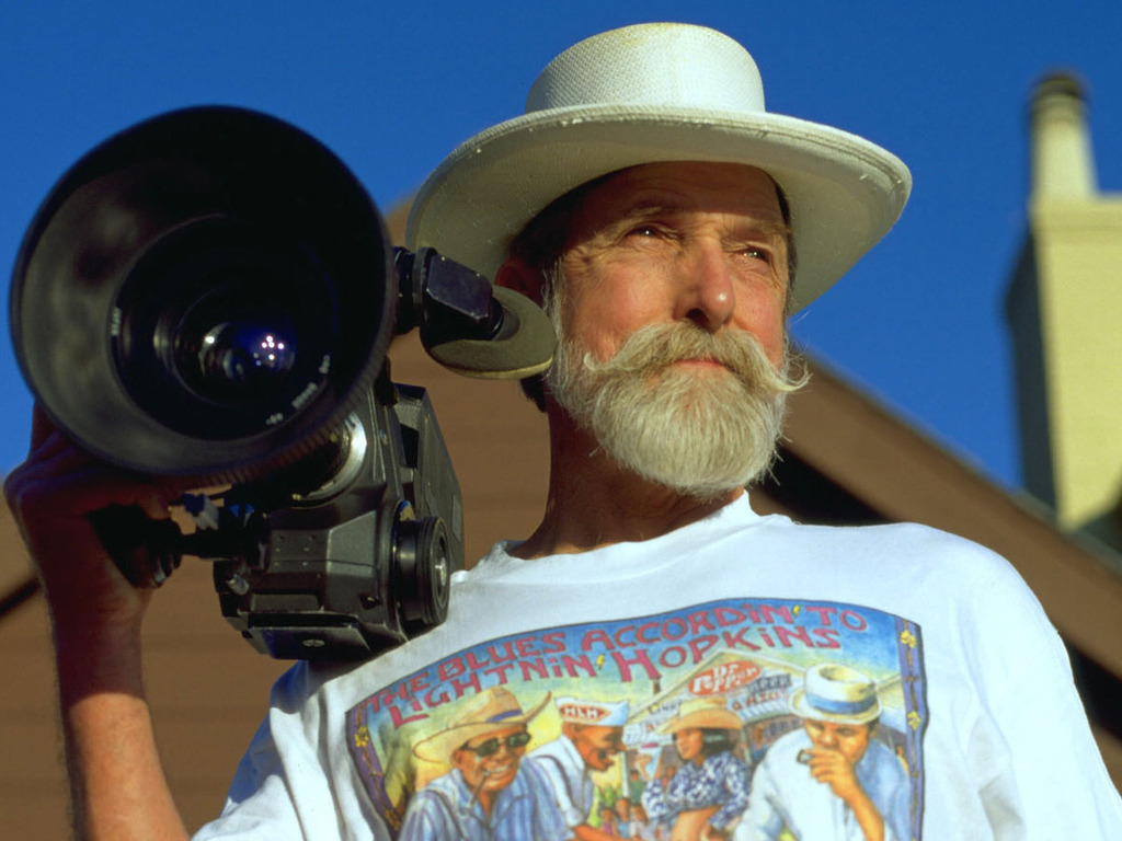 Documentary film about Les Blank.'s video poster