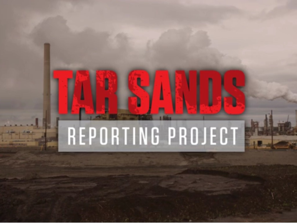 Tar Sands Reporting Project's video poster