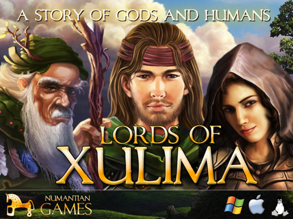 Lords of Xulima - An Epic Story of Gods and Humans's video poster