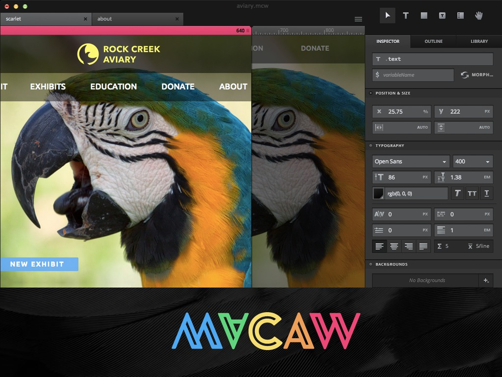 Macaw: The Code-Savvy Web Design Tool's video poster