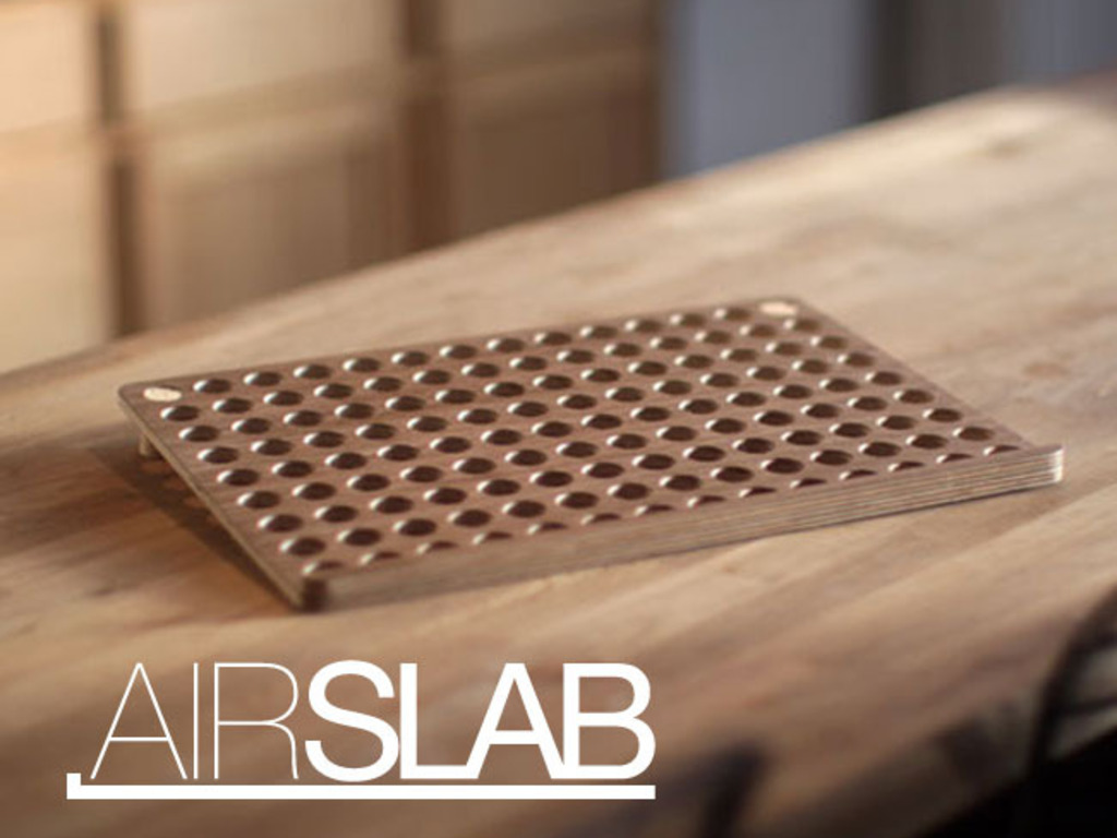 AirSlab - Laptop Cooling Stand & Pad's video poster
