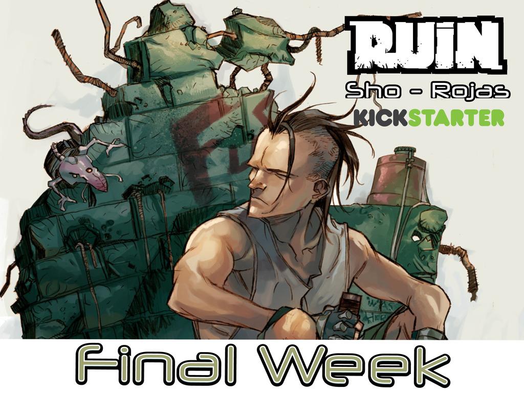 RUIN's video poster