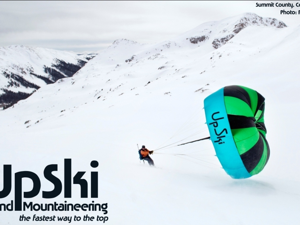 UpSki: Experience Wind Mountaineering's video poster
