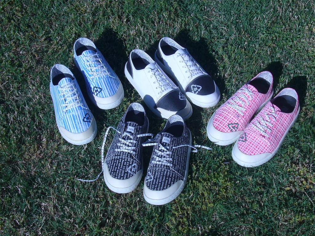 REMYXX cool sneakers 100% recyclable, seen on Shark Tank's video poster