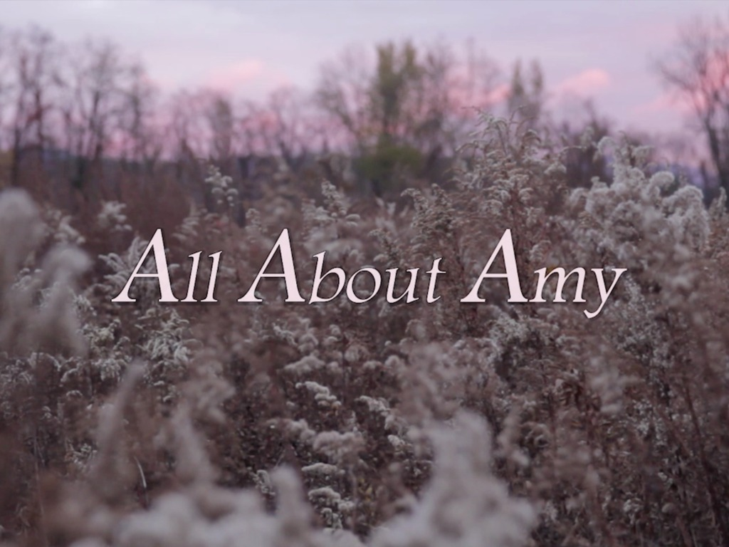 All About Amy's video poster