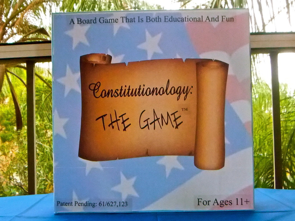 Constitutionology The Game's video poster