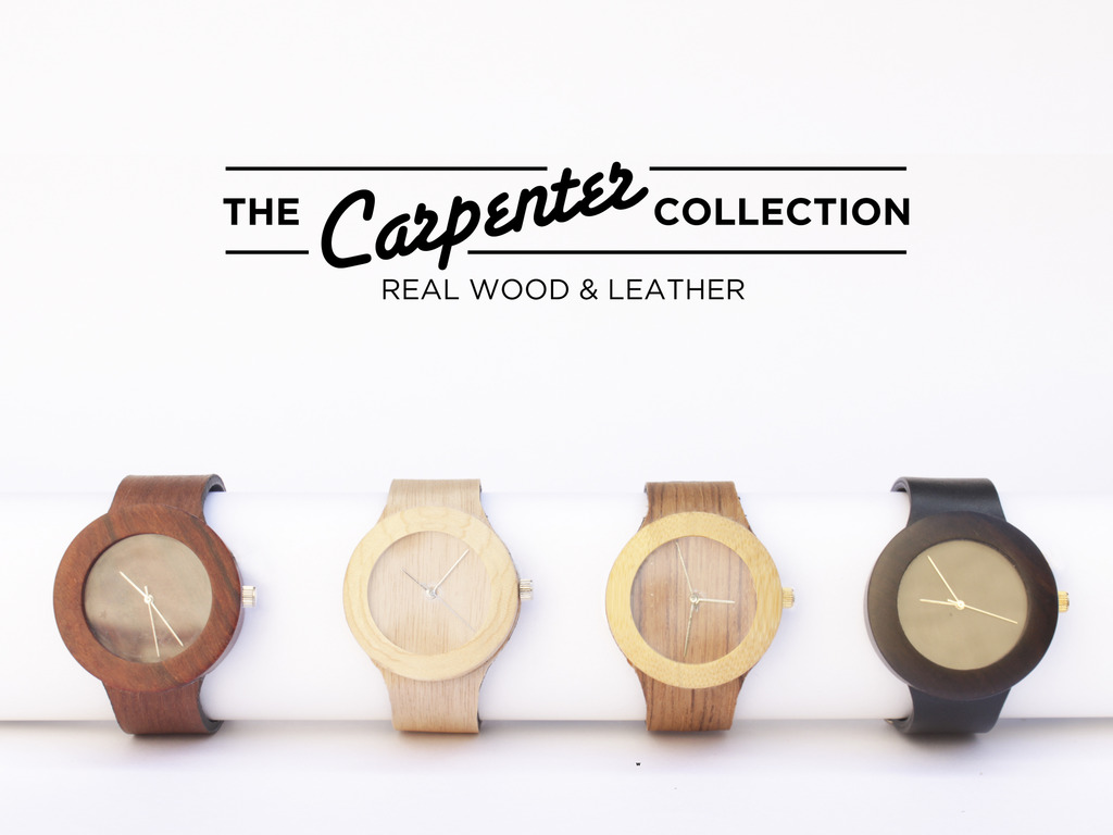 The Carpenter Collection All-Natural Wood Watch & Soft Strap's video poster