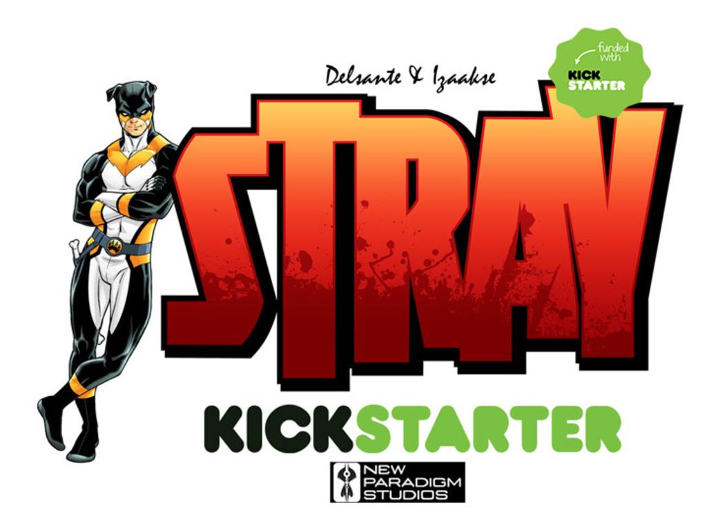 Stray - A New Superhero Comic's video poster