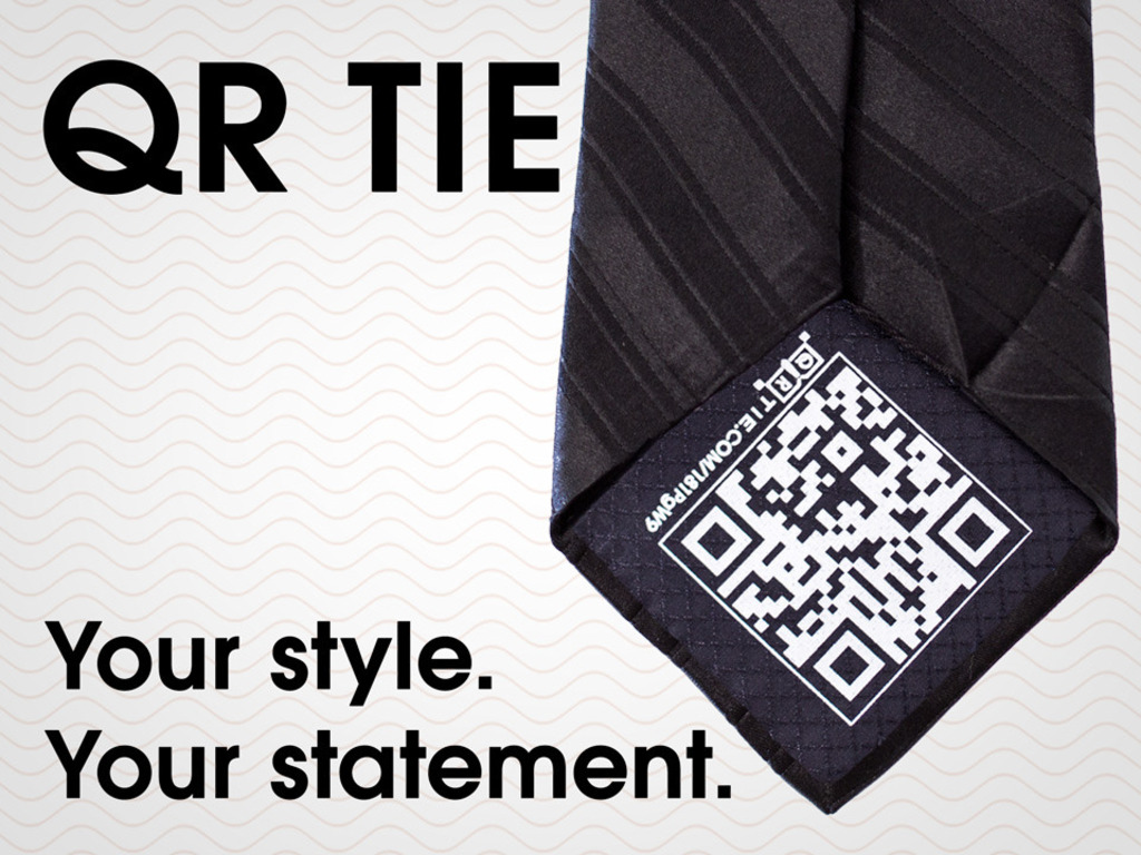 QR Tie: Tech For Your Neck's video poster