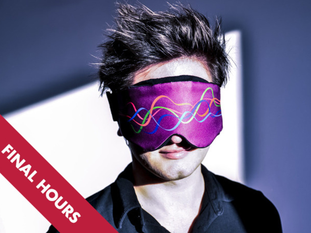 NeuroOn: World's first sleep mask for polyphasic sleep's video poster