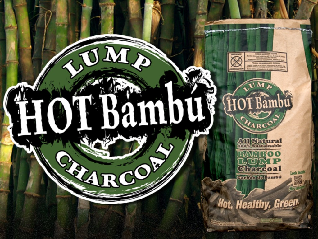 Sustainably produced Hot Bambú charcoal made in the U.S!'s video poster