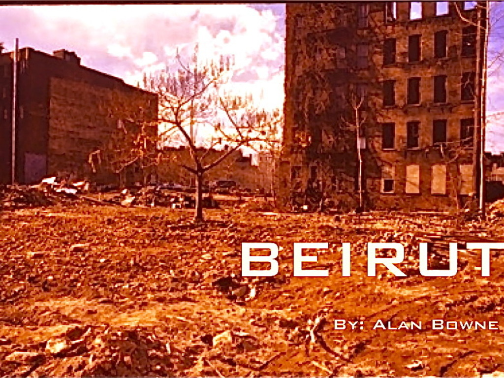 BEIRUT by Alan Bowne's video poster