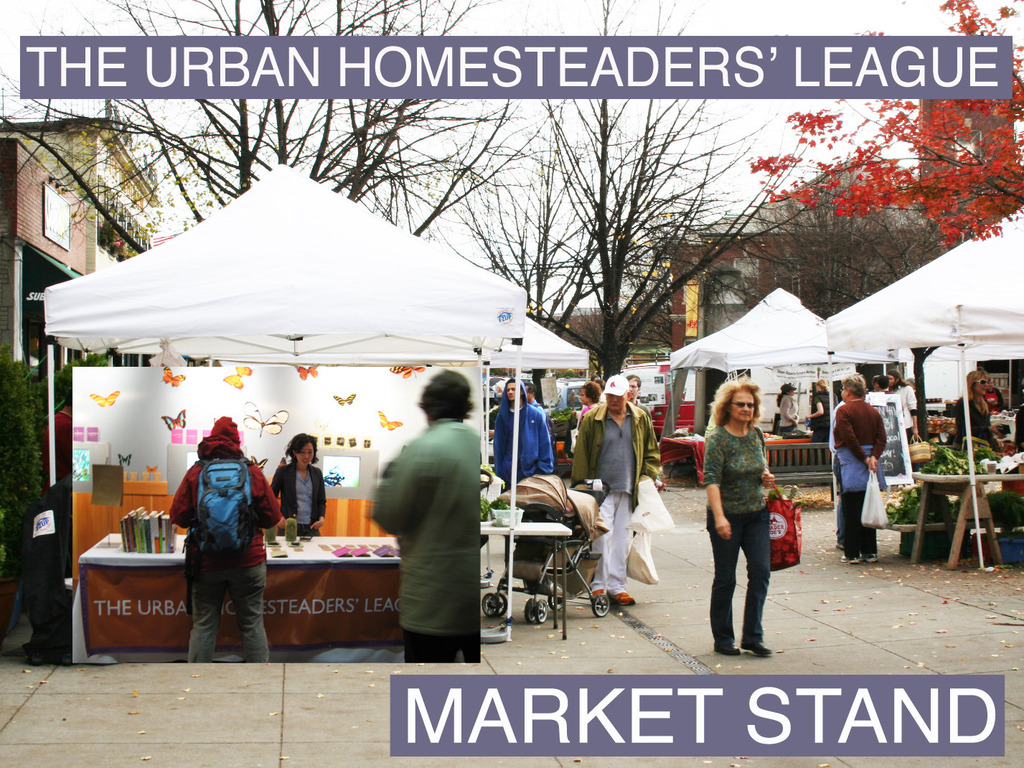 The Urban Homesteaders' League Market Stand's video poster