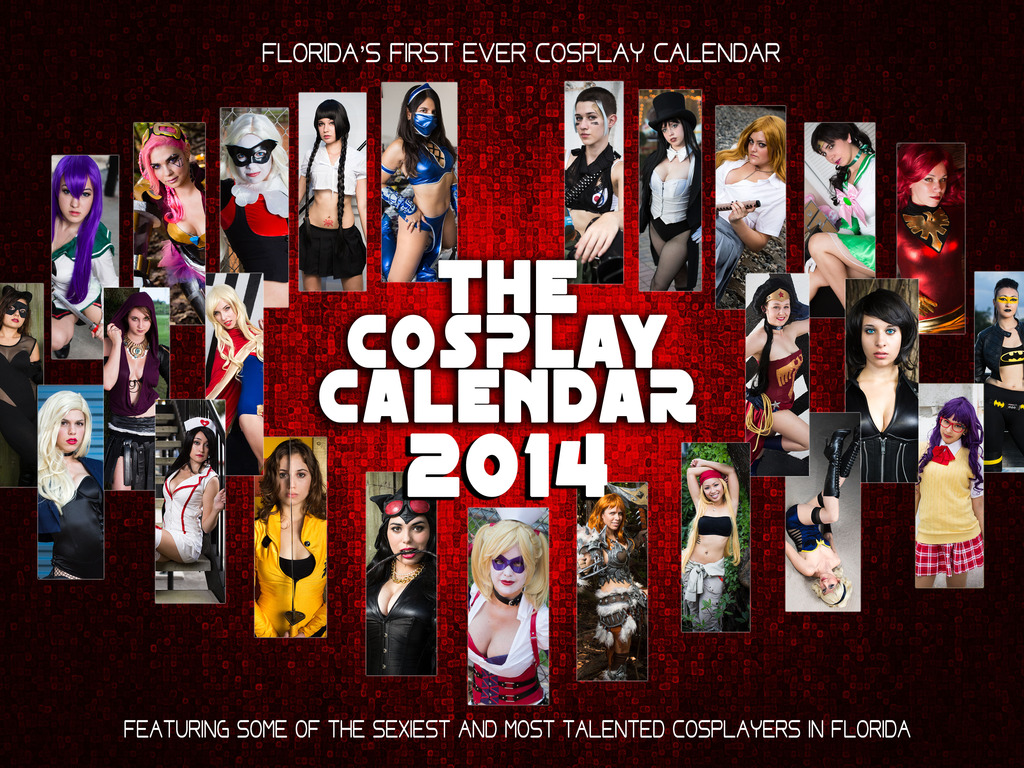 The Cosplay Calendar's video poster