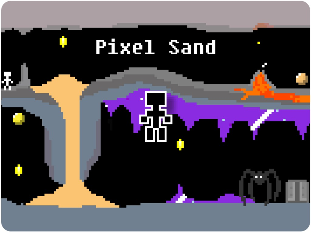 Pixel Sand's video poster