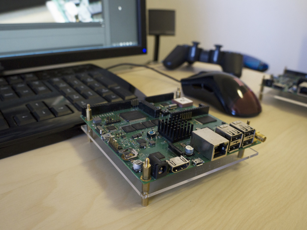 Crystal Board: FPGA - Arduino - ARM SoC in a single device's video poster