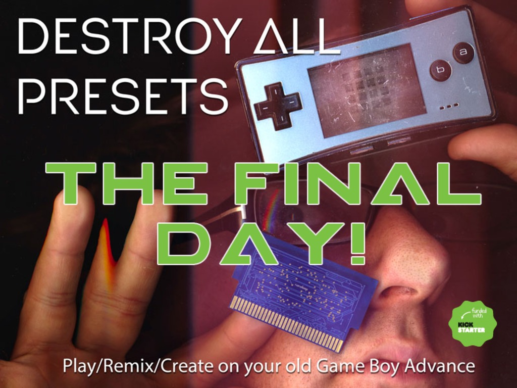 Destroy All Presets: ▲ re-mixable chiptune album!'s video poster