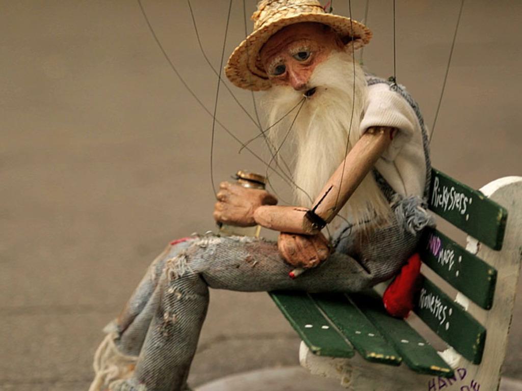Stix - A Marionette in Manhattan (Canceled)'s video poster