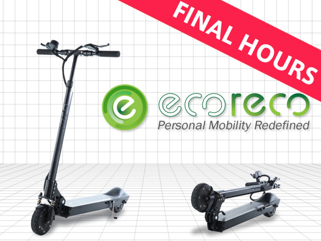 EcoReco M3 Scooter: State-of-Art Last Mile Electric Vehicle's video poster