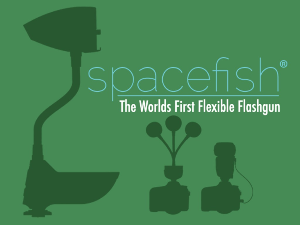Spacefish® :The World's First Flexible Flashgun's video poster