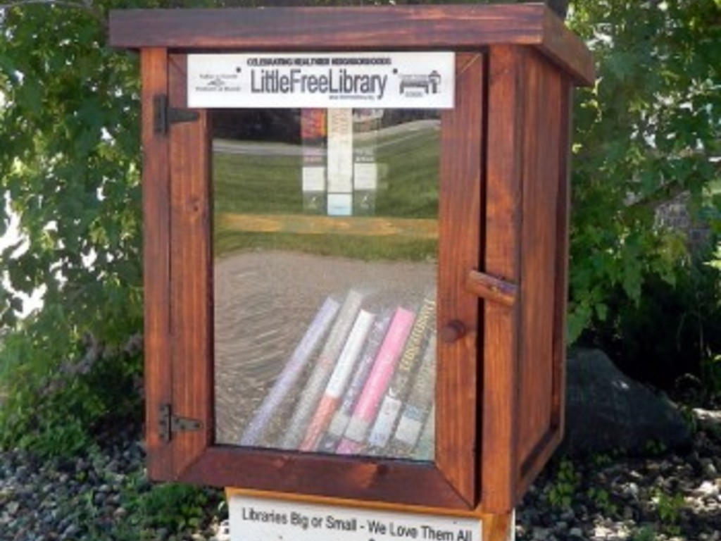 A Little Free Library for Genoa/Kingston, IL's video poster