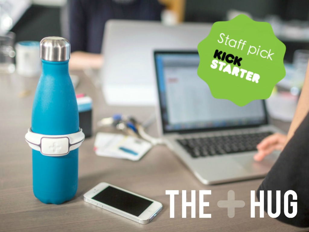Track your water intake and hydrate better with The Hug's video poster