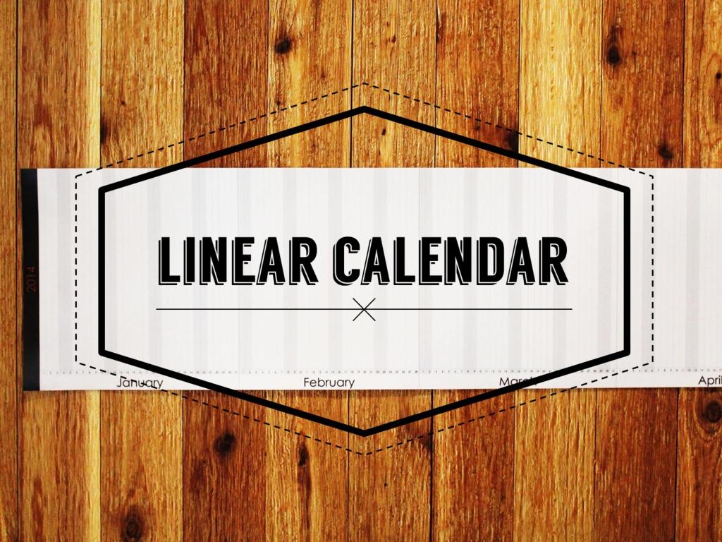 The Linear Calendar's video poster