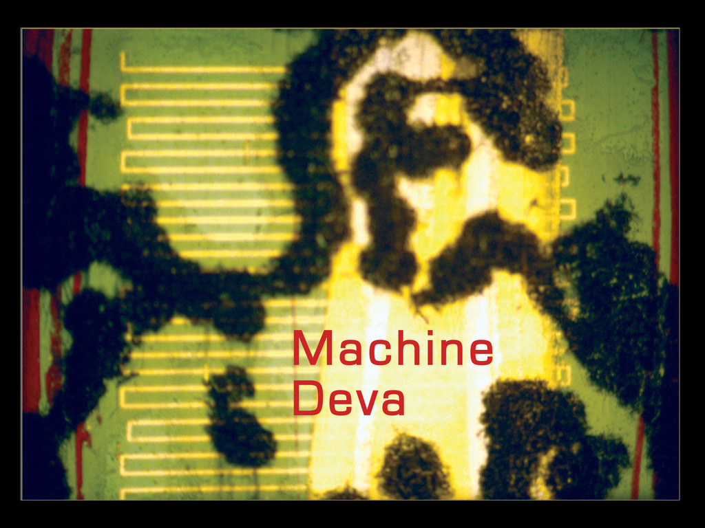 Machine Deva: An Experimental Art Film's video poster