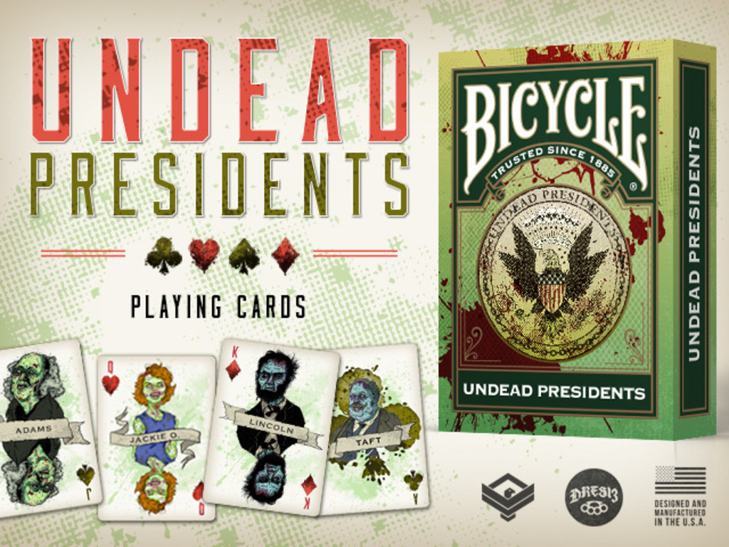 Undead Presidents Limited Edition Bicycle® Playing Cards's video poster