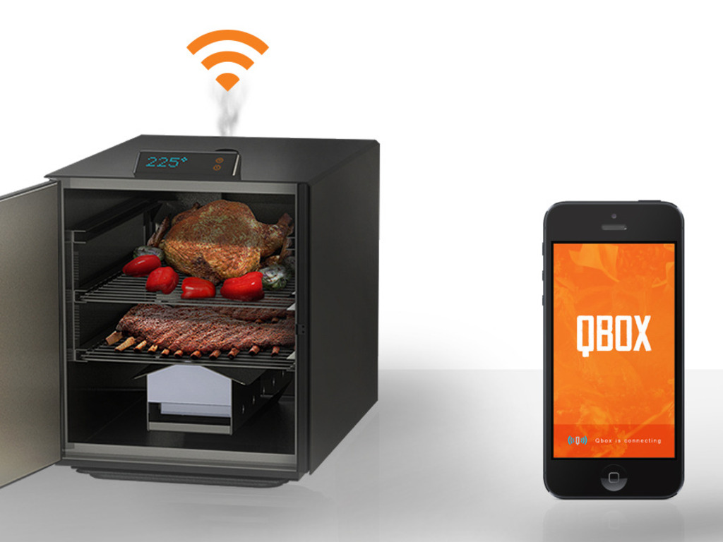 Qbox: The Wi-Fi connected BBQ Smoker (Canceled)'s video poster