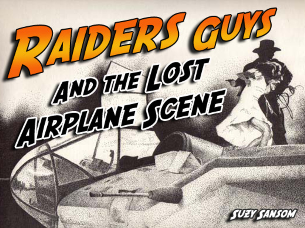 RAIDERS GUYS AND THE LOST AIRPLANE SCENE's video poster